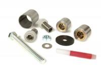 Kit silent block braccio oscillante motore -PM TUNING- Piaggio 125-180cc 2 tempi
