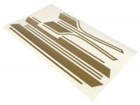 Set adesivi -VESPA- Vespa PX - cromato