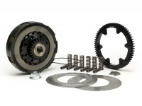 Clutch incl. primary drive set -BGM Pro Superstrong, type Cosa2/FL- primary gear BGM Pro 63 tooth (straight) - Vespa PX80, PX125, PX150, PX200, Cosa, T5, Sprint150 Veloce, Rally, GTR, TS125, Super150 (VBC) - 25/63 teeth (2.52)