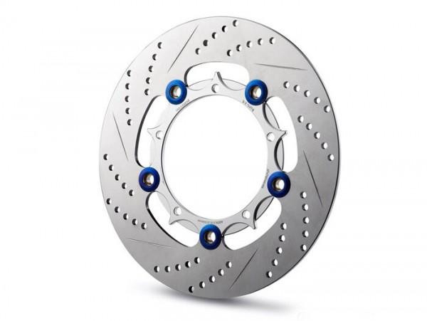 Bremsscheibe -HD CORSE Floating Disc Ø220/97mm 5o- Vespa Primavera 50-150cc, Sprint 50-150, LX50-150, LXV50-125, S50-150