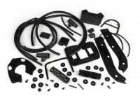 Rubber kit -CASA LAMBRETTA- Lambretta DL, GP - black