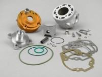 Cilindro -CRISTOFOLINI 80 ccm TCR Racing- Piaggio LC