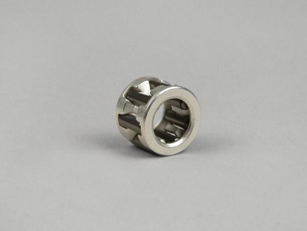 Pleuellager -STAGE 6 (10x17x13mm)- Minarelli 50 ccm (Reduktionslager 12mm->10mm Kolbenbolzen)- Silbern