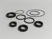 Oil seal set engine -OEM QUALITY- Peugeot 50 cc AC/LC (vertical, mecanical oil pump)