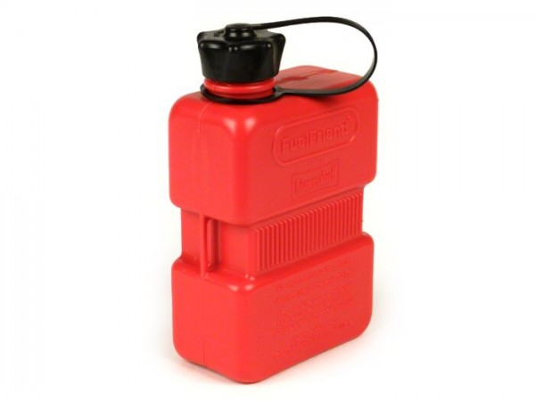 Fuel jerry can 1L (1000ml) -HÜNERSDORFF FuelFriend PLUS- red