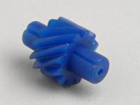 Ingranaggio rinvio contachilometri-QUALITÀ OEM- Vespa 12 denti, l=25mm, 2,0mm rettangolo (usato in GS160 / GS4 (VSB1T))