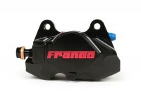 Brake caliper, rear -FRANDO, 2-piston, Ø=34mm (F901)- Vespa GT, GTV, GTL, GTS, GTS Super 125-300cc, Vespa 946 - black