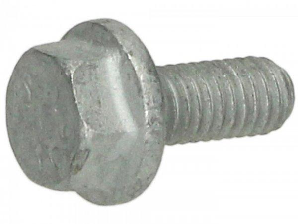 Schraube mit Flansch -M6 x 14mm- -PIAGGIO-