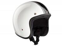 Helmet -BANDIT ECE Classic Jet- white - L (59-60cm)