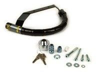 Steering lock -CLM Chic- Vespa GT125, GT200, GTL125, GTL200, GTS125, GTS250, GTS300, GTV125, GTV250, GTV300 - anti-theft, mounting on handlebar