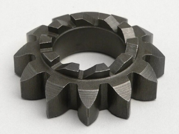 Kickstart sprocket -OEM QUALITY- Vespa V50, V90, SS50, SS90, PV125, ET3, PK S, PK XL  - teeth 12/10, Ø=20.5mm