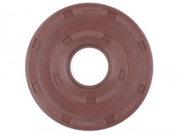 Wellendichtring 20x62x7mm -BGM PRO FKM/Viton® (E10 beständig)-(verwendet für Kurbelwelle Antriebseite Vespa Sprint (bis Bj. 1976), Super (bis Bj. 1976), TS (bis Bj. 1976), GT125 (bis Bj. 1976), GTR125 (bis Bj. 1976), GL150 (VLA1T), VNA, VNB, VBA, V