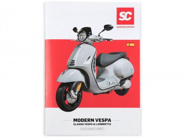 Catalog - brochure -SC MODERN VESPA + KLASSIK- edition 2020/2021 - Spanish