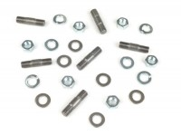 Stud kit for gear box end plate -MB DEVELOPMENTS- Lambretta LI, LIS, SX, TV (series 2-3), DL, GP, J50, J100, J125, Lui