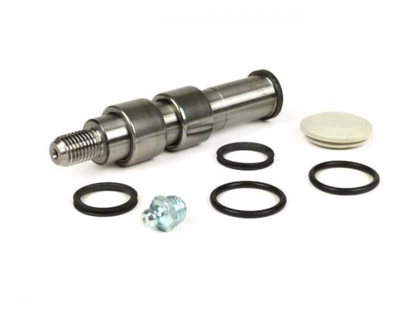 Schwingenlagersatz -VESPA- V50, ET3, PV125 - inkl. Schwinglagerbolzen, O-Ringe, Gummikappe für Tachoantrieb und Schmiernippel