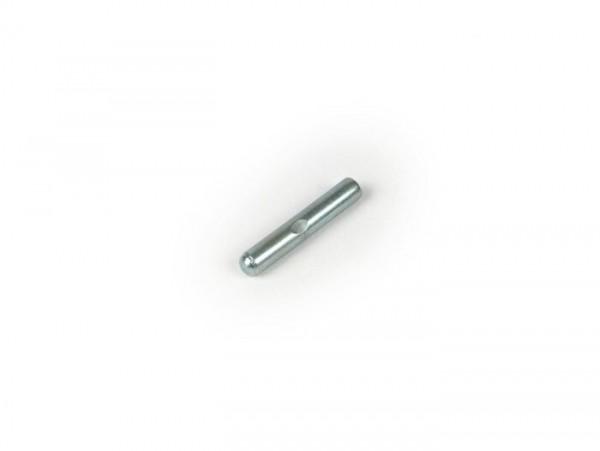 Pasador de seguridad (cilíndrica) 4,0x23mm (utilizado para leva interior selector de cambio Vespa PX, Cosa, T5, Rally, Sprint, TS, GT, GTR, Super, SS180, GS160, GL, VNA, VNB, VBA, VBB, Wideframe GS 150, VM, VN)