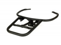 Topcase support rear (for original Piaggio Topcase) -FA ITALIA- Vespa GT, GTL, GTV, GTS, GTS Super, GT60 - 125-200-250-300cc - matt black