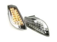 Blinker-Set -BGM STYLE LED (E-Prüfzeichen)- Vespa LX, LXV, S -