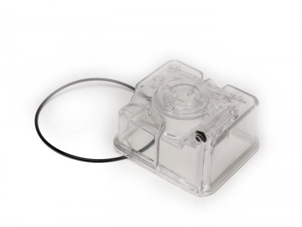 Cuba del flotador -MALOSSI- PHBH / PHBL - transparente con junta.