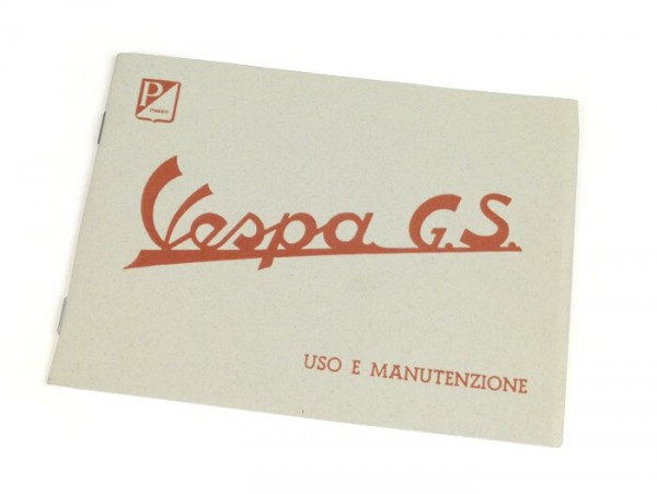 Owner's manual -VESPA- Vespa GS 150 (1959-1961)