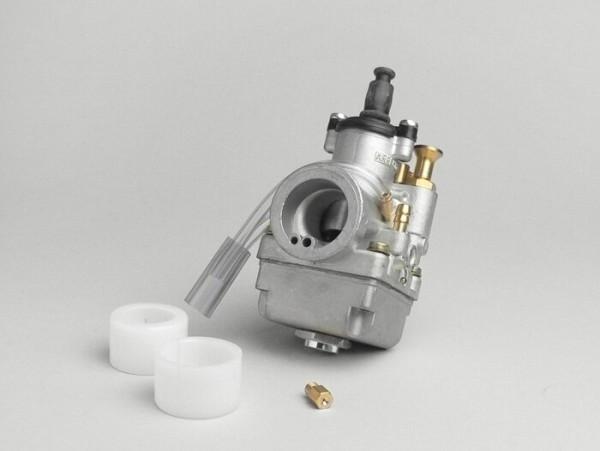 Vergaser -ARRECHE 17,5mm- inkl. manueller Choke, Muffenverbindung - AW=24mm -  Minarelli RV4 / AM345 / AM6 / Generic Trigger