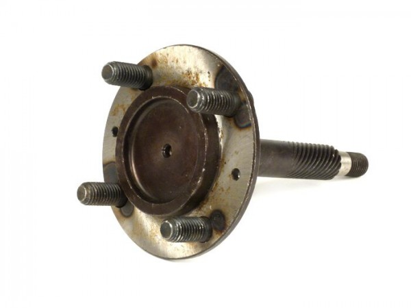 Bremstrommelflansch / Achse vorne -OEM QUALITÄT, Stehbolzen Ø=10mm- Vespa VNB3T, VNB4T, VNB5T, VNB6T, VBB1T (71001-), VBB2T