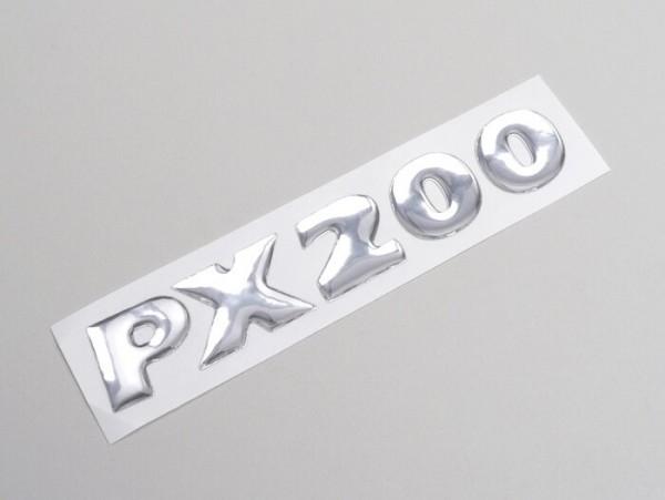 Schriftzug Seitenhaube -VESPA- PX200- Vespa PX200 (Bj. 1998-2010)