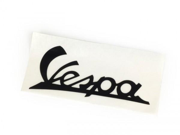 Schriftzug Beinschild -PIAGGIO- Vespa - Vespa (Bj. 1946-54) - Schwarz