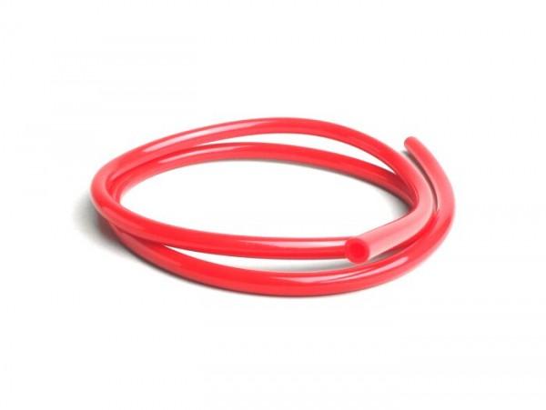Tubo de gasolina -CALIDAD OEM- Ø interior=5mm, Ø exterior=8mm, l=1000mm - rojo