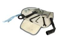Werkzeugtasche inkl. Werkzeug -CASA LAMBRETTA- Lambretta universal - Grau