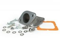 Intake manifold -MB DEVELOPMENTS, flange type TS1- Lambretta -without rubber