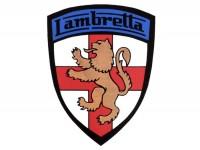 Aufkleber -LAMBRETTA Lion 75x60mm-