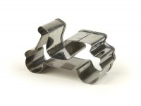 Cookie cutter -VESPA- motor scooter 6.5cm, stainless steel