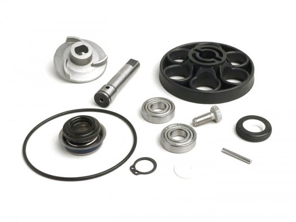 Water pump repair kit Morini 50 cc LC (type Aprilia/Suzuki) - blade hight 7mm