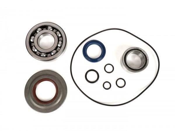 Lagersatz - Wellendichtringsatz für Kurbelwelle -BGM ORIGINAL- Vespa PX - Metall - inkl. O-Ringe