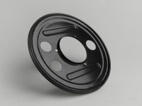 Rear hub dust cover 10 inch -VESPA- Vespa PX, Rally180 (VSD1T), Rally200 (VSE1T), Sprint150 (VLB1T), TS125 (VNL3T), GT125 (VNL2T), GTR125 (VNL2T)