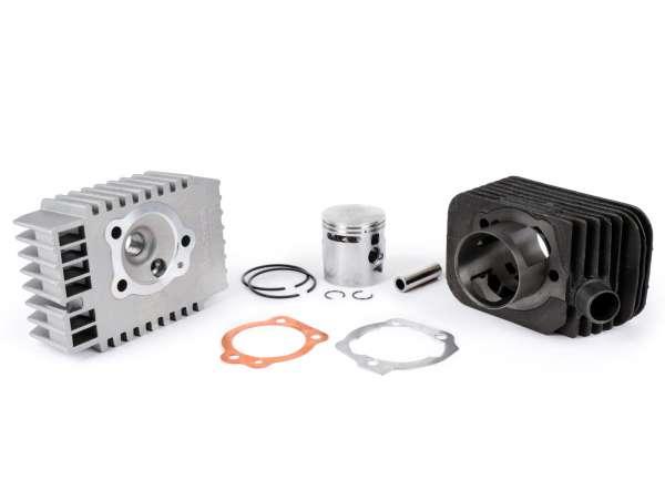 Zylinder -MALOSSI 73 ccm Sport Ø46,5mm- Piaggio Bravo, Boss, Grillo, SI, Superbravo (Kolbenbolzen = Ø 12mm) - Motorgehäuse muß ausgespindelt werden