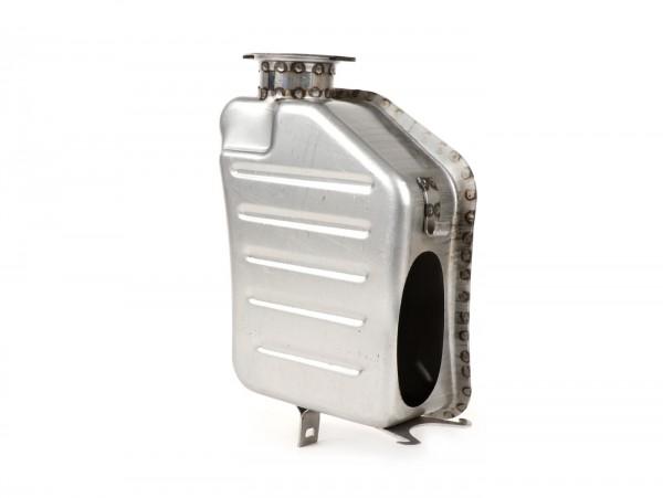 Luftfilterkasten -SPAQ Big Bore- Lambretta LI (Serie 3), LIS, SX, TV (Serie 3), DL, GP - unlackierter Stahl