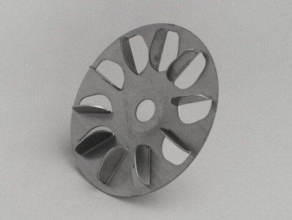 Flywheel front pulley -OEM QUALITY- Morini 50 cc (two-piece front pulley)