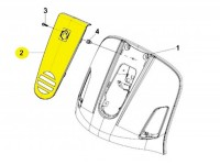 Horn cover -PIAGGIO- Vespa GT (ZAPM31), Vespa GTL (ZAPM31)