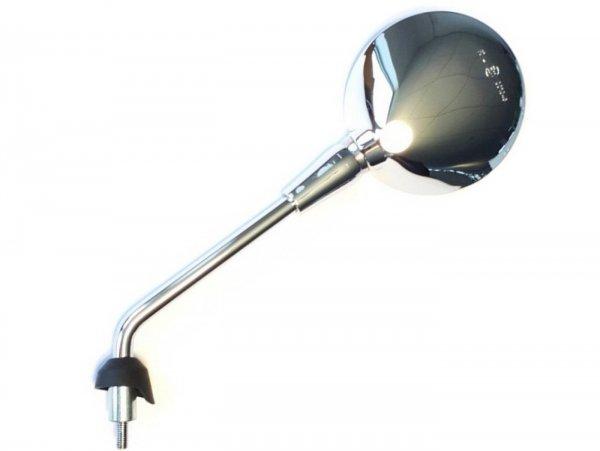 Specchietto, cromato, sinistra -PIAGGIO- Vespa GTS 125 (ZAPMA3700), Vespa GTS HPE 300 (ZAPMA3600, ZAPMD310), Vespa GTS Super 125 (ZAPMA3700), Vespa GTS Super HPE 300 (ZAPMA360, ZAPMD3100)
