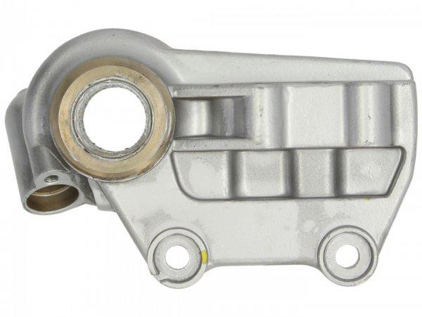 Bremsankerplatte - Bremszangenaufnahme vorne -PIAGGIO- Vespa GT 250 (ZAPM45102), Vespa GT L 125 (ZAPM31100, ZAPM31101), Vespa GT L 200 (ZAPM31200), Vespa GTS 125 (ZAPM31300), Vespa GTS 250 (ZAPM45100, ZAPM45101), Vespa GTS 300 (ZAPM45200), Vespa GTS