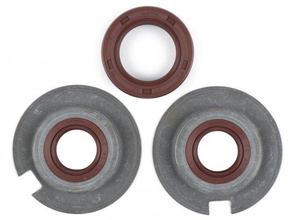Wellendichtringsatz Motor -BGM PRO, FKM/Viton® (E10 beständig)- Vespa Wideframe VM, VN, VL, VB, GS150 / GS3 (VS1T - VS5T, VDTS), VD1, VD2