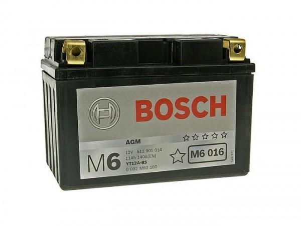 Batterie -Wartungsfrei BOSCH YT12A-BS- 12V 11Ah -150x88x105mm (inkl. Säurepack)