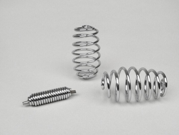 Seat spring set -MADE IN INDIA- Vespa Wideframe VN1-2, VM1-2 - Chrome