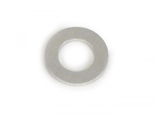 Upper gasket for float bowl cover -PIAGGIO- carburettor SI20-SI24 - 5.2x9.0x0.8mm, aluminium