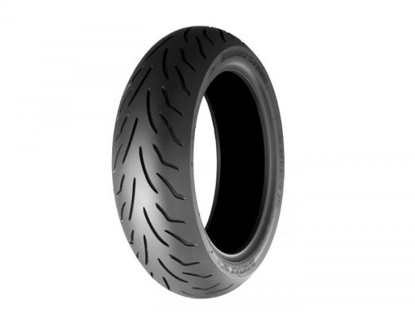 Neumático -BRIDGESTONE BATTLAX SC- delantero - 120/70R - 14 pulgadas TL 55H