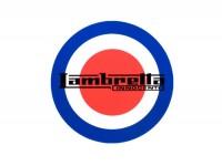 Aufkleber -LAMBRETTA Target Lambretta Ø=75mm-