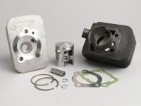Zylinder -MALOSSI 65 ccm Sport- Piaggio Ciao (Kolbenbolzen = Ø 10mm)