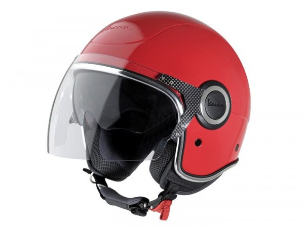 Helm -VESPA VJ- Jethelm, rot - XL (61-62cm)